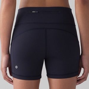 Lululemon Athletica Shorts Midnight Navy
